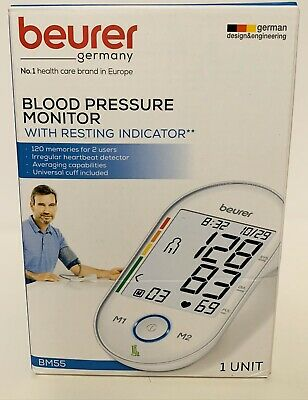 BEURER Upper Arm Blood Pressure Monitor, Blood Pressure Monitor Cuff (BM55)