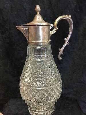 Vintage Wine Or Claret Carafe / Decanter / Pitcher / Jug - Made In Italy (D3)