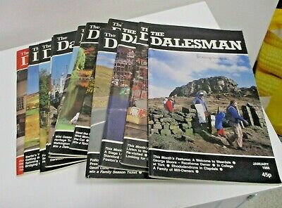 The Dalesman Magazines ~ Complete Year 1988