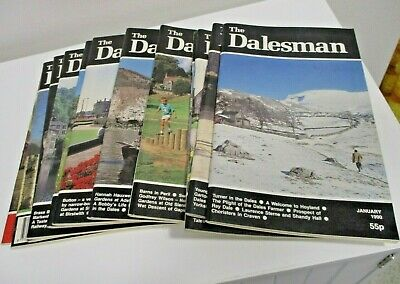 The Dalesman Magazines ~ Complete Year 1990