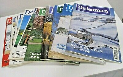The Dalesman Magazines ~ Complete Year 1995