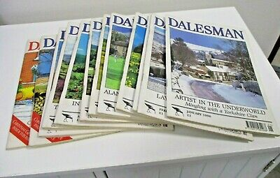 The Dalesman Magazines ~ Complete Year 1996