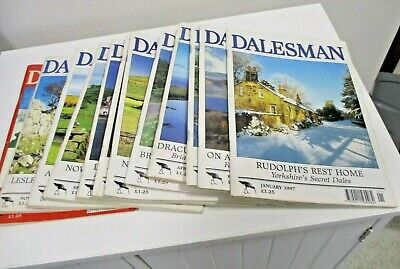 The Dalesman Magazines ~ Complete Year 1997