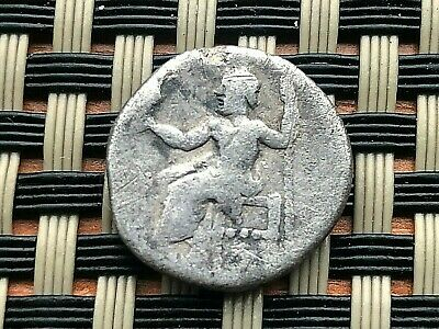Silver Coin Of Alexander Iii The Great 336-323 Bc Ar Drachma Ancient Greek Coin