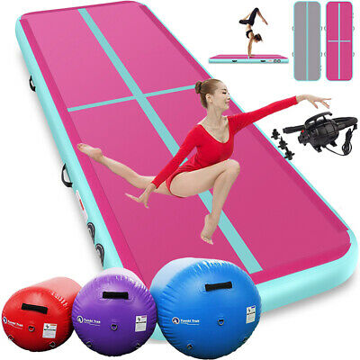 10/13/16/20Ft Airtrack Inflatable Air Track Floor Home Gymnastics Tumbling Mat