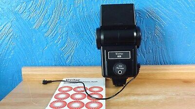 Vivitar 283 Automatic Electronic Flash For General Use With Manual & Sync Cord