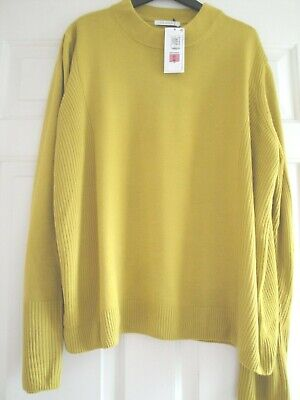M&S Bnwt Jumper Top Winter Lime Size 22 Great Gift Ladies Girls Staysoft