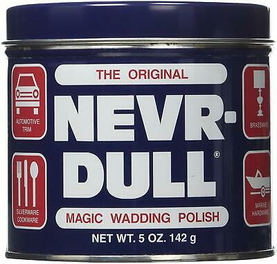 George Basch Co. The Original (Never) NEVR-DULL Magic Wadding Polish NEW