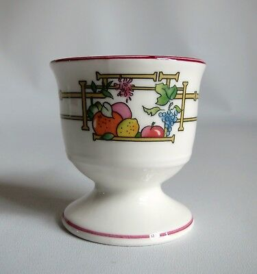 Villeroy & Boch Egg Cup ~ Mon Jardin Pattern ~ Excellent Condition ~ Sweet