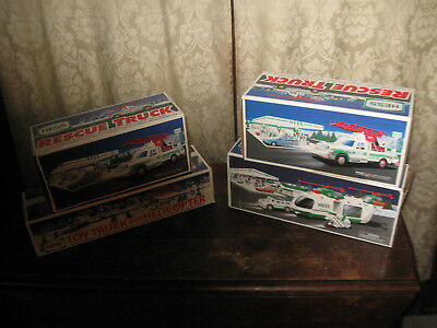 Hess Trucks Vintage lot of Four Toys Collectibles