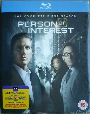 Person of Interest - Series 1 - Complete (Blu-ray, 2013, 5-Disc Set)  (Sealed)
