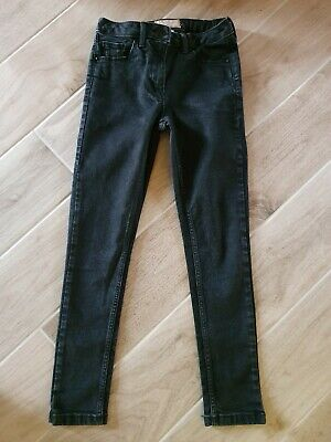 Girls black slim fit skinny jeans age 10yrs from NEXT *FAB CONDITION*