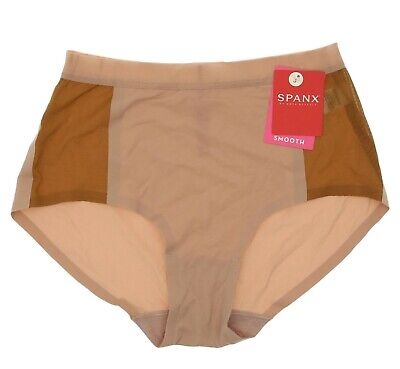 Spanx 'Undie-Tectable' Shaping Retro Rise Mesh Briefs 10912 Size Small