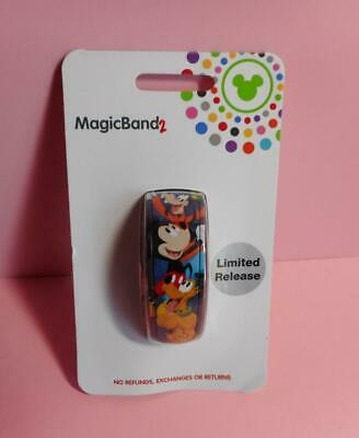 Disney World Mickey Mouse and Friends MagicBand 2 Limited Release New in Package
