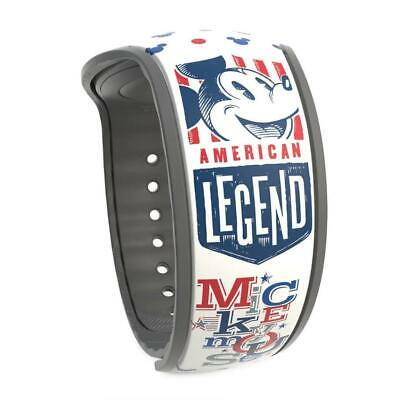 Disney World Mickey Mouse American Legend MagicBand 2 Limited Release New