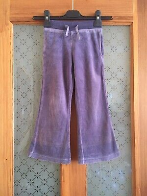 Lovely Mini Boden trousers, 3-4 years, soft velour, mauve grey colour