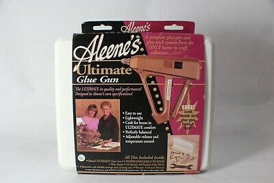 Aleene's Ultimate Hot Glue Gun With Case Manual And Accessories EUC