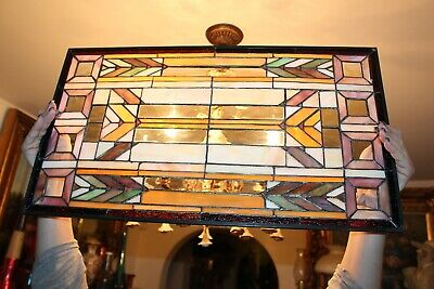 Quoizel Collectible Stained Glass Window Sun Catcher Multi Colors