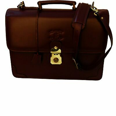 New Leather Briefcase Clinton