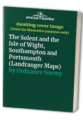 The Solent and the Isle of Wight, Southa... by Ordnance Survey Sheet map, folded