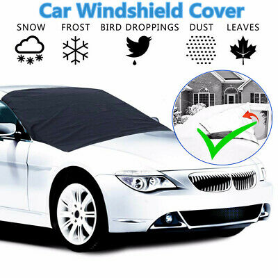 Large Heavy Duty Windscreen Cover Protect From Snow Frost Ice Screen Windshield@