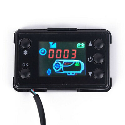 12/24V LCD Monitor Air Diesel Heater Parking Heater Controller Switch Car Track