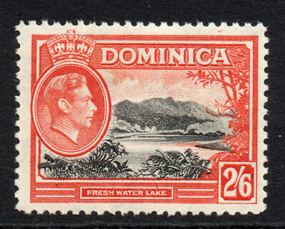 Dominica 2/6 Stamp c1938-47 Mounted Mint