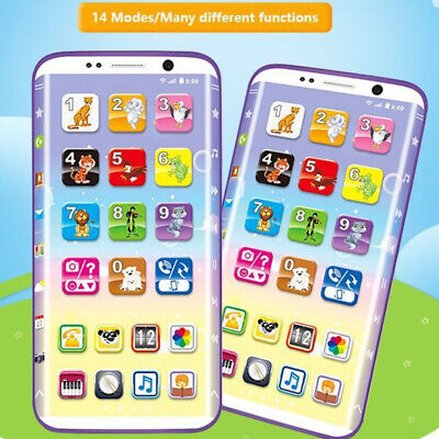 Toy Phone Educational Learning Cell Phone Electronic Toys for Children Gift US