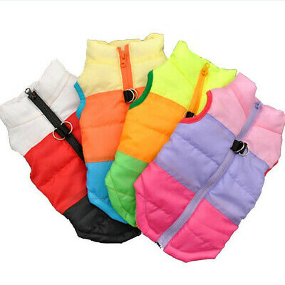 Hot Winter Dog Cat Vest Coat For small Large dogs Warm Pet Puppy Clothing Jacket