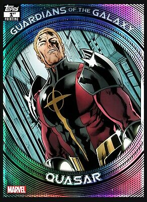 Topps Marvel Collect Guardians Of The Galaxy 1st Printing Quasar (Digital)