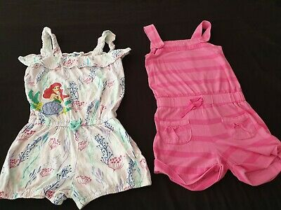 Girls Cute Outfit Disney Store Ariel And Pink Cherokee Girls Age 9-10