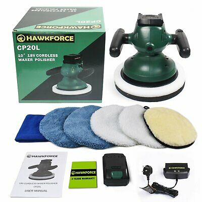18V Cordless Dual Action Electric Car Polisher Sander Buffer Polishing Machine