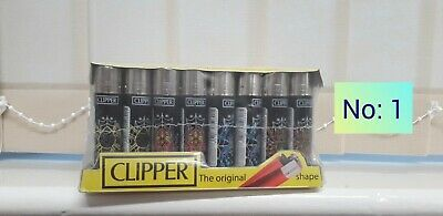 40 X Clipper Lighters Gas Flint Refillable Crazy Strong Weedy Acid Weed Lighter