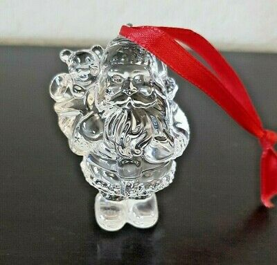 MARQUIS by WATERFORD Crystal Ornament CHRISTMAS ENDEARMENTS SANTA 4th in a serie