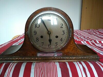 Antique Vintage  French Napoleon Style Mantel Clock