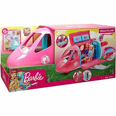 Barbie Travel Dream Plane Playset Toy For Girls (New in box)