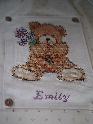Baby Bear Cross Stitch Chart #295