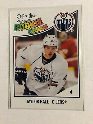 Taylor Hall 2010-11 O-PEE-CHEE Marquee Rookie Card!!