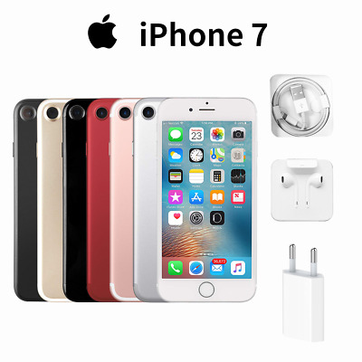 Nuova Apple iPhone 7 32GB 128GB Gold Rose Black Silver Smartphone Top Seller