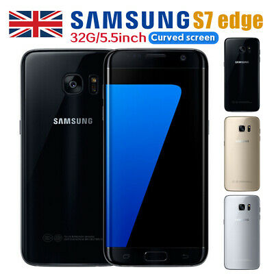 New Unlocked SAMSUNG Galaxy S7 Edge 32GB G935F 4G SIM Free - 3 Colours UK