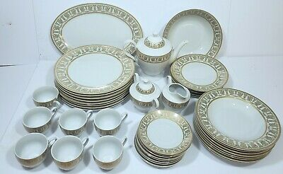 Savoy Home China Set - Dinnerware - Service for 8 (50 Pieces)