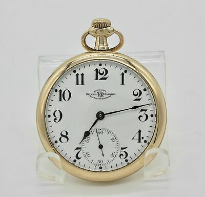 OFFICIAL Ball Waltham 16s pocket watch 19 jewels model 1899 c1905
