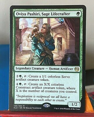 Oviya Pashiri Sage Lifecrafter NM English x 4  mtg Kaladesh Low Inter Ship