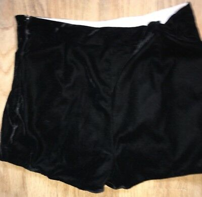 Girls Marks & Spencer Shorts Age 10-11 Years Black Autograph
