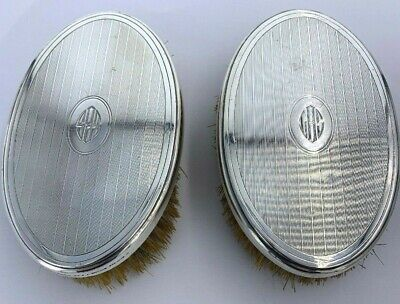 Art Deco Tiffany & Co. Sterling Silver Clothing Brushes A Pair