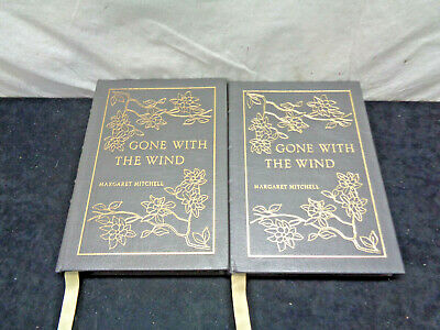 Gone With The Wind Easton Press VOLUME 1 AND 2 Margaret Mitchell 1964 (HKW32)