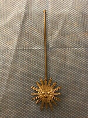 stunning peerless/lenzkirch Cast Brass Pendulum