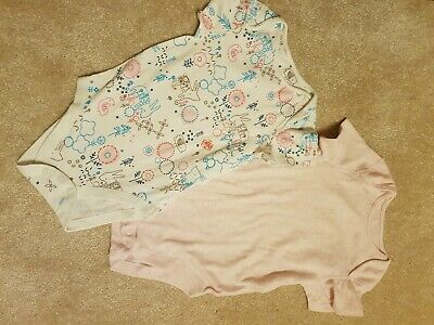 Marks And Spencer Vests Girls 2-3 Years Brand New