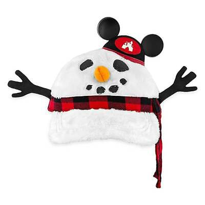Disney Parks Christmas Snowman Baseball Cap for Adults New with Tags