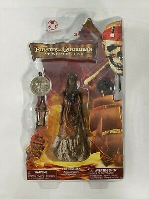 Pirates Of The Carribean TIA DALMA At Worlds End Disney Store New Sealed